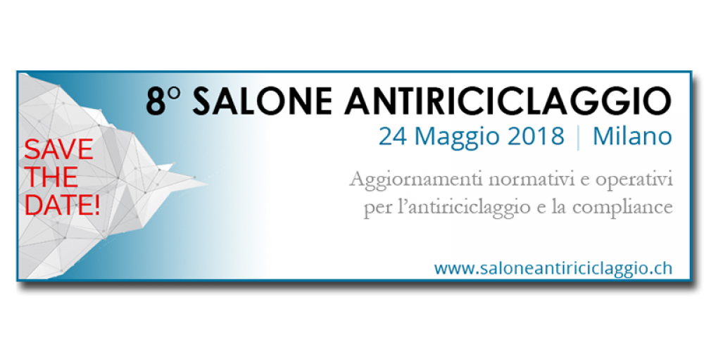 Programma 8° Salone Antiriciclaggio – Milano