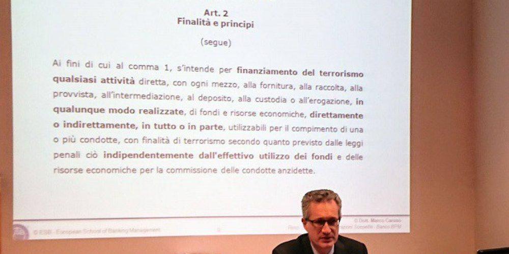 Partita a Milano la 15ma edizione del Master Antiriciclaggio